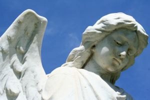Mount Olivet Cemetery Archangel Uriel 69 by Falln-Stock