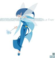 A blue fairy by lsyw