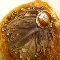 Belly Dancer Hair Fascinator by SteamSociety