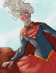 Just be Supergirl by Netsco
