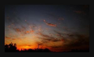 Fire Sky by StephenMPhotography