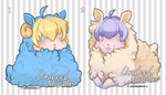 OPEN Sheep Adoptables by LinaLeeL