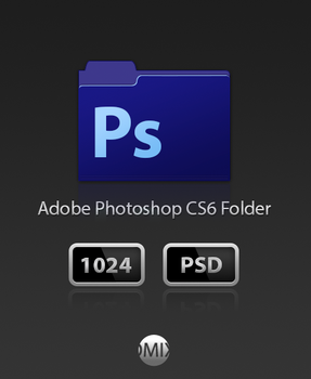 Adobe Photoshop CS6 Folder PSD by iTomix