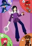The Gang of 2015 by CrystalViolet500