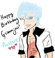Happy birthday, Grimmjow! by my-name-is-totoro