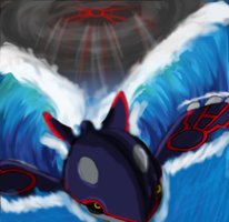 Dep-Kyogre of the sea by Mastachaos