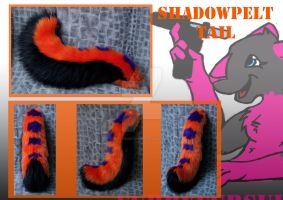 Shadowpelt tail commission by FurryFursuitMaker