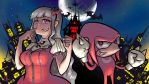 Takane and Knuckles by Triple-Q