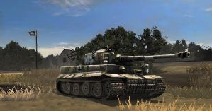 Panzer VI Tiger by A3DR