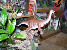 Jurassic Park Gallimimus Model by Blade-of-the-Moon