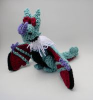 Shiny Noivern ami by gwilly-crochet