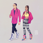 Street Style Colorful by sarakuan