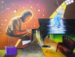The Pianist by Ishyndar