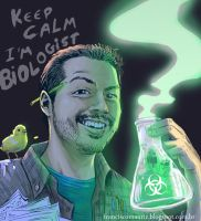 keep calm i m biologist by kikomauriz