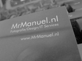 My new business cards by MBijen