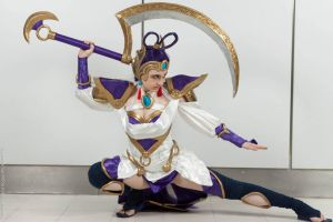Lunar Goddess Diana Cosplay by DemoraFairy