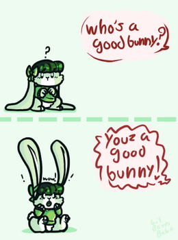 Good Bunny!!!! by Lil-Berry-Babe