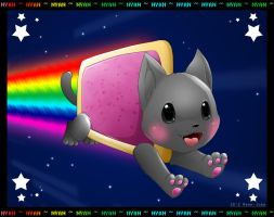 Nyan Cat by Neon-Juma