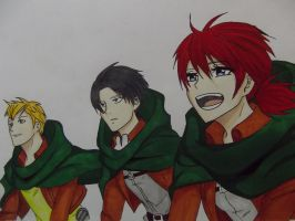 Shingeki no kyojin - No regrets by zarl71