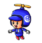 Propeller Blue Toad by ninpeachlover
