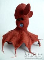 Vampire Squid by FamiliarOddlings