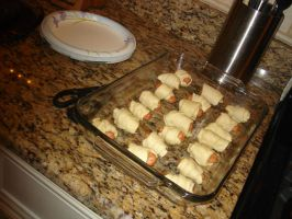 Pigs in a blanket by cali-cat