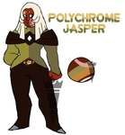 Polychrome Jasper by Bananeurysms