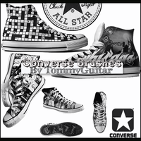 Converse Brushes by TommyGuitar