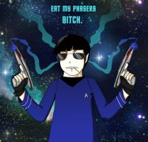 Eat My Phasers Bitch. by jjengo