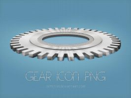 Gear Icon by demeters