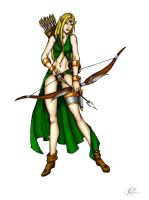 Wood Elf by Phillip Olsen by Enchantress2179