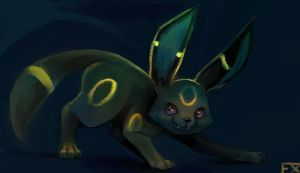 Umbreon pokeddexy day 2 by Flixg