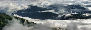 Above the clouds by hakkat