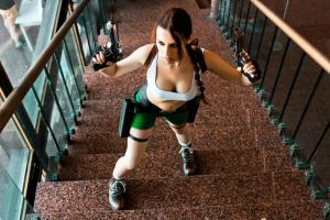 Lara Croft cosplay - Kyiv ComicCon 11 by TanyaCroft
