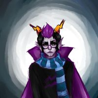 Eridan drawing yaay by xiao-tuna