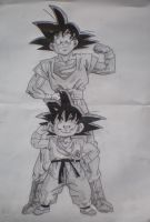Goku by Puddingg