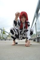 Cow Kigu- Hoof stomping by shelle-chii