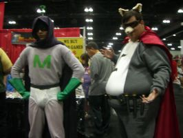 AX 2011-Mysterion and The Coon by EstrellaCorazon