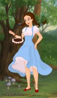 Emotionette as Dorothy by TheWizardofOzzy