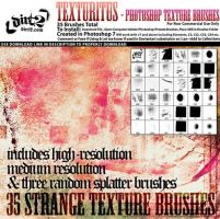 Texturitus Photoshop Brushes by analeewon