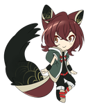 how do I draw chibi in my style again by Hackwolfin