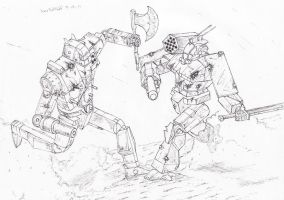 Battletech: Rough and Tumble by Steel-Raven