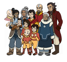 Avatar Family by SuirenShinju
