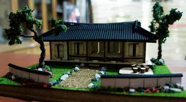 Korea Traditional House by PLavender