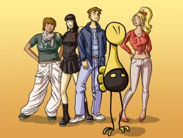MLiF - Meet the Gang by The-Mirrorball-Man