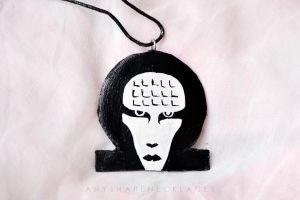 Marilyn Manson Omega Mechanical Animals by AnyShapeNecklaces