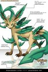 Pokedex 470 - Leafeon FR by Pokemon-FR