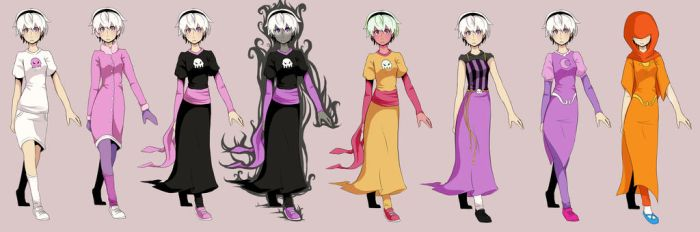 Rose Appearance Concepts by iKuura