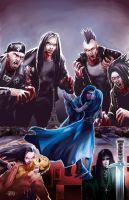 The 99 Eyes cover by johnnymorbius