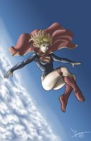 Supergirl by Flocco